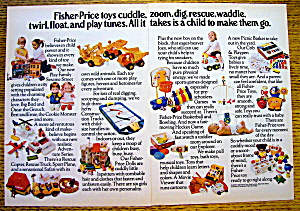 1975 Fisher-Price Toys with Sesame Street, Dolls & More (Image1)