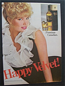 1981 Black Velvet Whiskey
