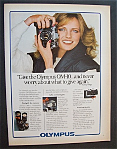 1981 Olympus Om - 10 Camera With Cheryl Tiegs