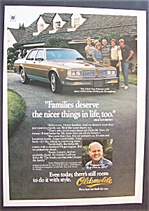 1981 Oldsmobile Delta 88 With Dick Van Patten & Family