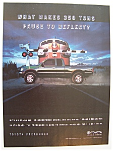 Vintage Ad: 2000 Toyota  PreRunner (Image1)