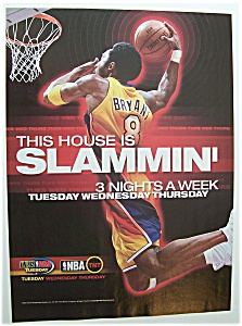 Vintage Ad: 2001 Nba On Tnt & Tbs Tuesday Nba