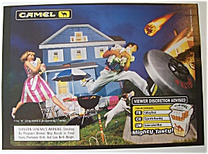 1999 Camel Cigarettes w/Man & Woman Carrying Cigarettes (Image1)