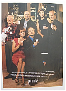 1999  Got  Milk?  with  The  Cast  Of  Frasier (Image1)