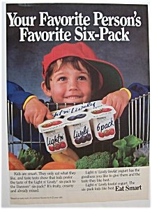 1988 Light N' Lively Yogurt