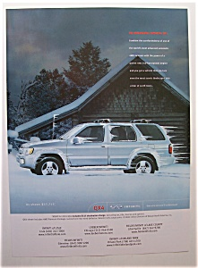 Vintage Ad: 2001 Infiniti  QX4 (Image1)