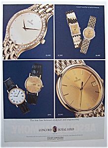1993 Concord Royal Gold Watches