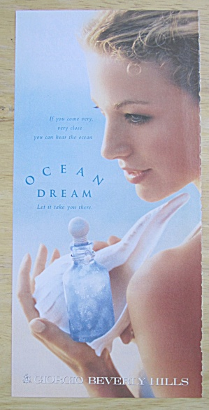 2004 Giorgio Perfume with Ocean Dream with Woman  (Image1)