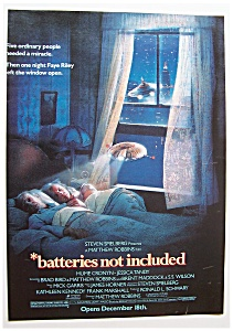 1988 Movie Ad For Batteries Not Included