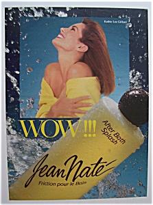 1989 Jean Nate After Bath Splash w/Kathie Lee Gifford (Image1)