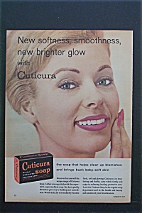 1959 Cucitura Soap With Woman Touching Her Face