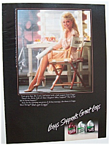1988 Legg's Pantyhose With Loni Anderson