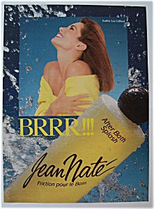 1989 Jean Nate Bath Splash With Tv's Kathie Lee Gifford