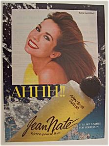 1989 Jean Nate Bath Splash w/ TV's Kathie Lee Gifford (Image1)