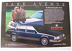 1989 buick park avenue automobile car at ads by dee. Black Bedroom Furniture Sets. Home Design Ideas