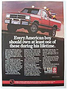 Vintage Ad: 1985 Dodge Trucks