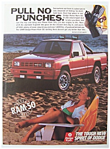 Vintage Ad: 1989 Dodge Power Ram 50 (Image1)