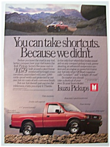 Vintage Ad: 1989 Isuzu Pickups (Image1)