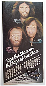1980 Ampex Cassette Tapes With The Bee Gees