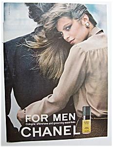 1980  Chanel  For  Men  Cologne (Image1)