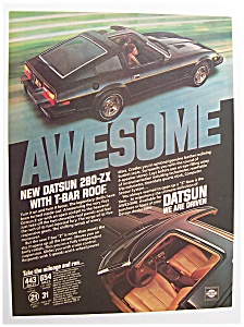 1980 Datsun 280 - Zx With A T - Bar Roof