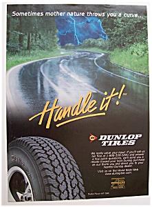 Vintage Ad: 1998  Dunlop  Tires (Image1)