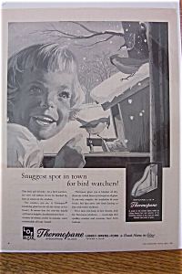 1959 Libbey Owens Ford Glass with Girl Looking at Birds (Image1)