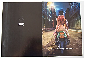 2000 Salem Cigarettes with Woman on Back of Motorcycle (Image1)