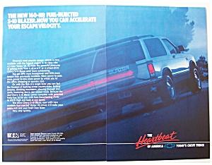 Vintage Ad: 1988  Chevrolet  Blazer (Image1)