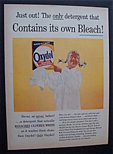 Vintage Ad: 1956 Oxydol Laundry Detergent (Image1)