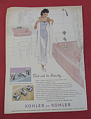 1959 Kohler Of Kohler with Woman About to Take Bath (Image1)
