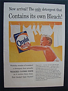 Vintage Ad: 1956 Oxydol Laundry Detergent (Image1)