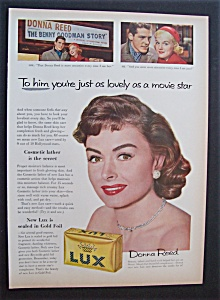 1956 Lux Toilet Soap With Donna Reed