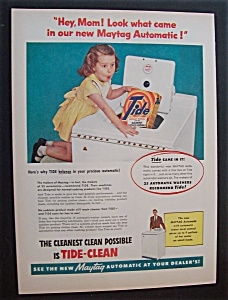 1956  Maytag  Automatic  &  Tide  Detergent (Image1)