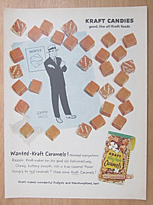 1959 Kraft  Caramels with Dick Tracy (Image1)