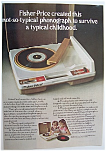 1981 Fisher-Price Phonograph with the Phonograph (Image1)