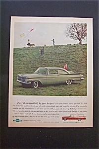 1959 Chevrolet with the Biscayne 2-Door Sedan (Image1)