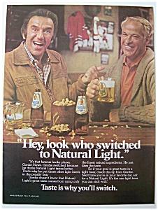 1981  Natural  Light  Beer  with  Gordie  Howe (Image1)