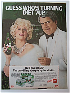 1981  Diet  7 Up  with  Rich Little & Marilyn  Michaels (Image1)
