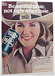 Vintage Ad: 1981 Sugar Free Dr. Pepper (Image1)