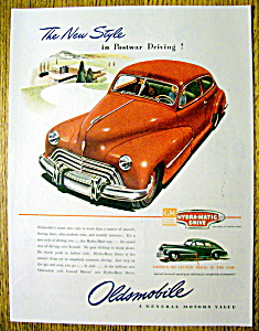 Vintage Ad: 1946 Oldsmobile Hydra Matic Drive