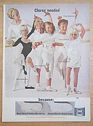 1966 Clorox Bleach with Girl's Ballet Class  (Image1)
