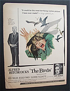 1963 Alfred Hitchcock The Birds W/woman Being Attacked