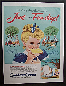 1960 Sunbeam Bread