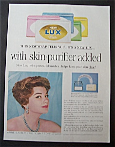 1960 Lux Soap With Anne Baxter