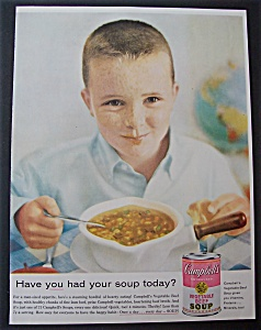 1959 Campbell's Vegetable Beef Soup
