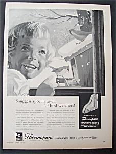 1959 Thermopane Insulating Glass w/Birds by a Window (Image1)