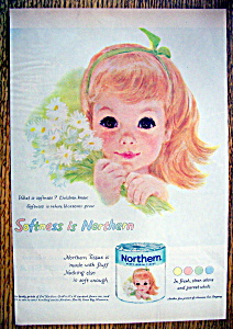 Vintage Ad: 1959 Northern Toilet Tissue (Image1)