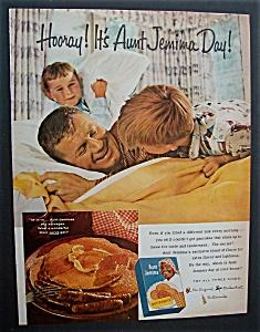 1960  Aunt  Jemima  Pancake  Mix (Image1)