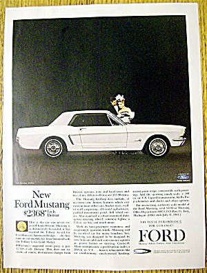 1964 Ford Mustang With Ford Mustang Hardtop